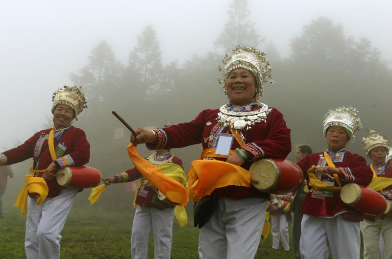 中国国际乐器演奏日在贵州侗族乡村启动