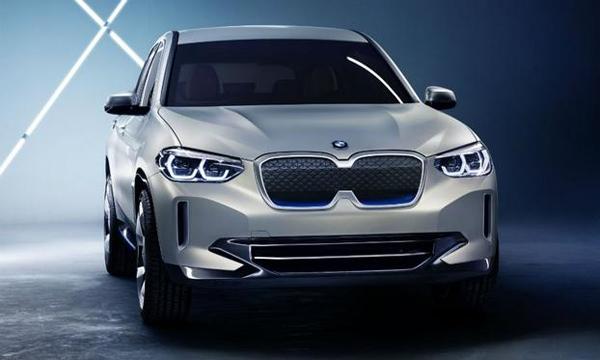 宝马iX3纯电动概念车亮相北京车展 2020年在华投产