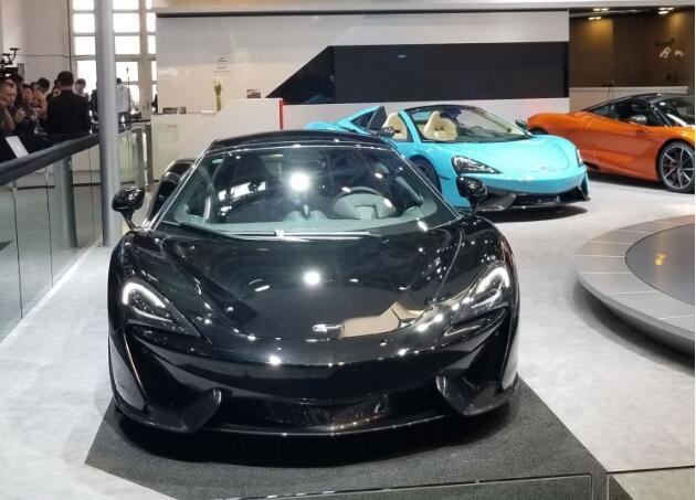 【2018北京车展】迈凯伦570GT MSO卡宾特别版
