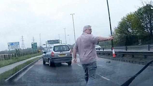 赞!英驾校教练高速路停车救迷路小鸭群