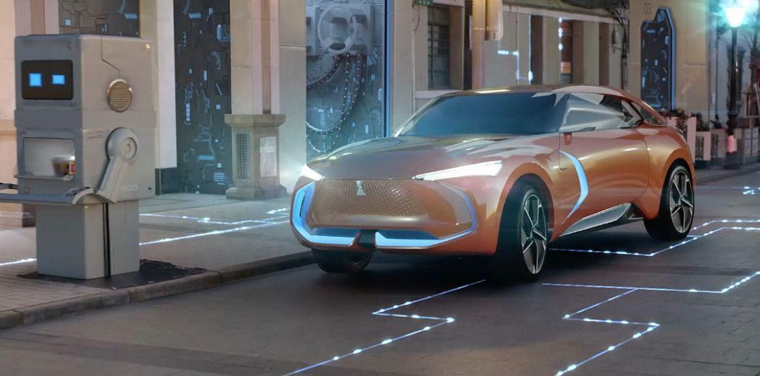 【2018北京车展】WEY倾力打造纯电动WEY-X概念车