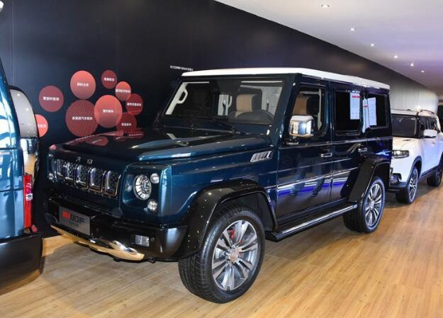 【2018北京车展】北汽发布BJ80F防弹版