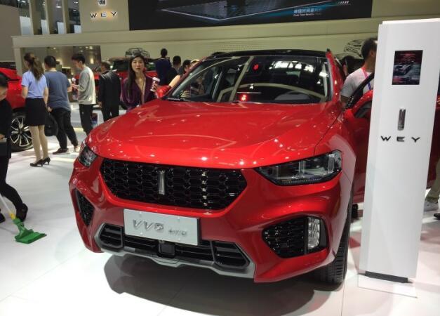 【2018北京车展】WEY VV5四驱版正式亮相