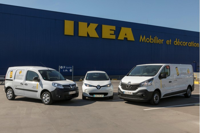 法国宜家联手雷诺推租车服务 大件家具也能搬回家