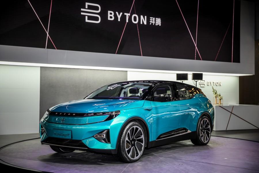 拜腾首款车型亮相2018北京车展 迎接出行新未来