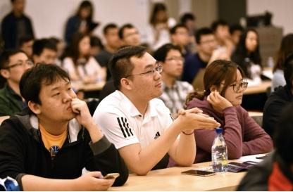 百度高级副总裁刘辉破译人才密码,斯坦福AI学子蜂拥问道