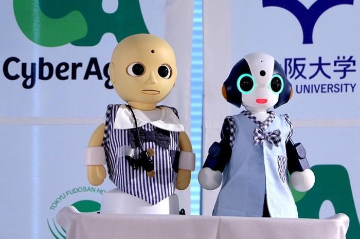 """日本机器人""""掌管""""酒店前台 让顾客感到放心"""