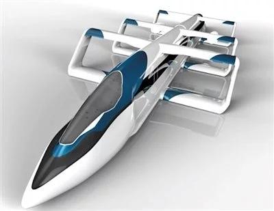 """中日开发""""信天翁""""高速列车 最高时速500公里"""