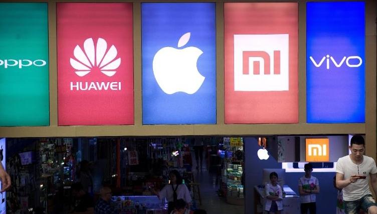 苹果、三星国内市场节节败退 华为稳居榜首