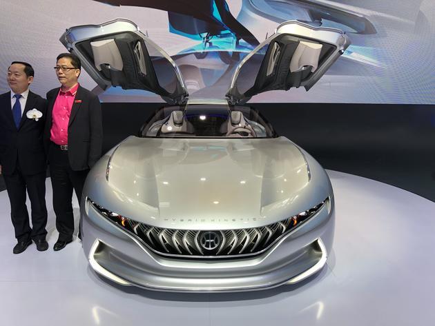 【2018北京车展】正道超跑HK GT国内首秀