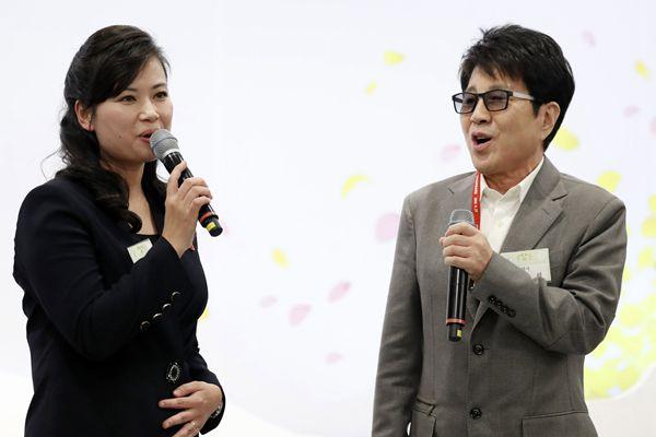 朝韩首脑晚宴:玄松月与赵容弼同台演出