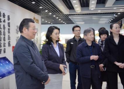 中国友谊促进会陈智敏理事长一行莅临启明星辰集团参观考察