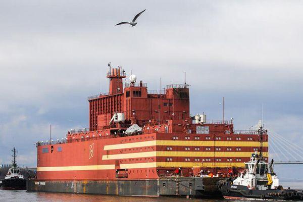 俄罗斯首座浮动核电站前往摩尔曼斯克 2019年将开始发电
