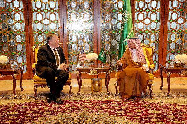 美国新任国务卿抵达沙特 开启上任后首次中东之行