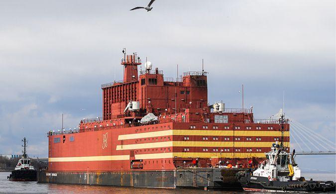 俄罗斯首座浮动核电站亮相 2019年将正式发电
