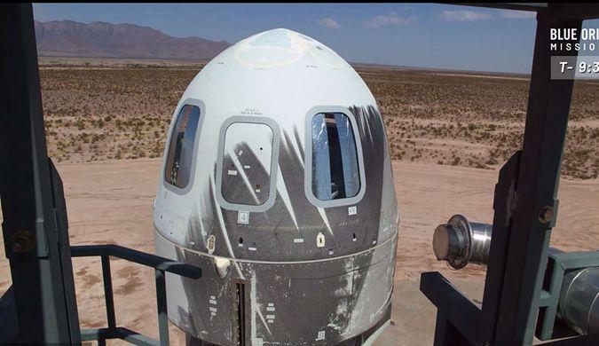 蓝色起源公司再次成功试飞并回收亚轨道飞行器