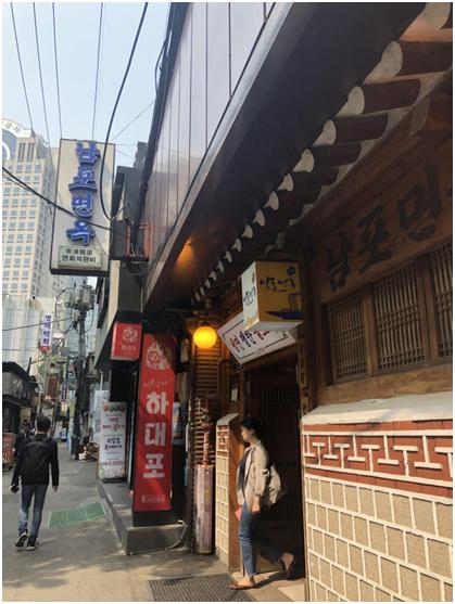 在首尔,环环吃了碗被金正恩带火的平壤冷面