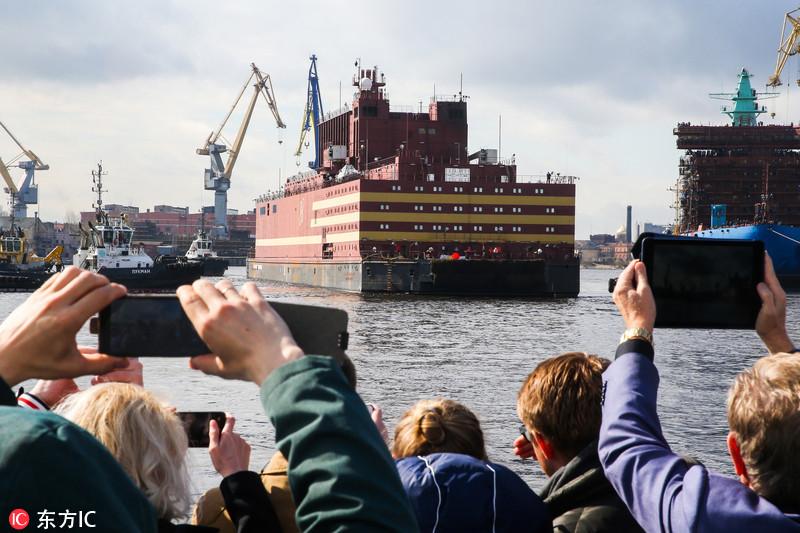 俄罗斯浮动核电站首航,中国的还会远吗?