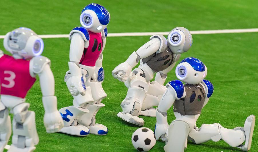 2018机器人世界杯公开赛举行