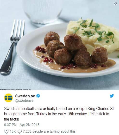 什么?瑞典肉丸祖籍不是瑞典?