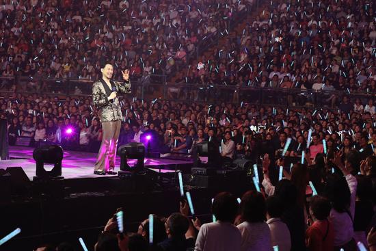 张学友世界巡回演唱会台北站圆满落幕