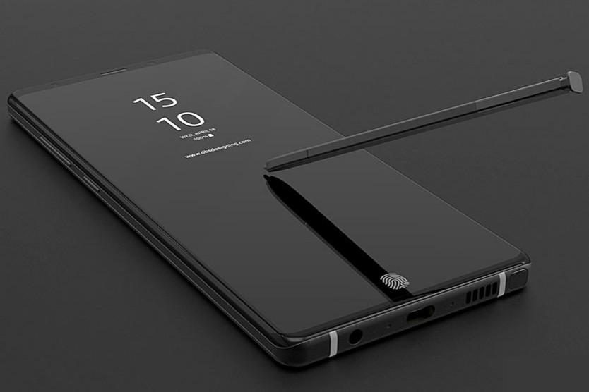 三星Note 9新进展曝光:7月发布+屏下指纹识别