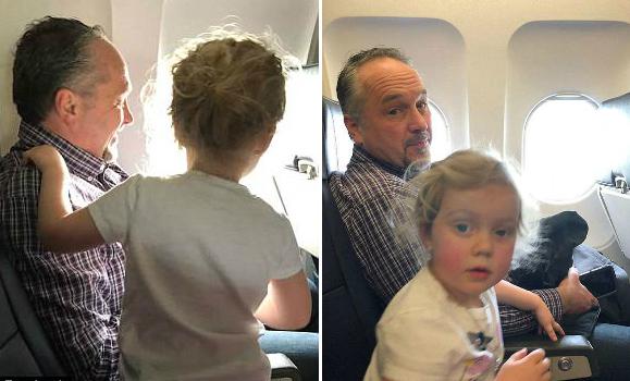 美女子带两幼儿乘机 获邻座男子善意帮助