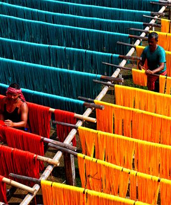 探访印度传统服饰纱丽服制作过程