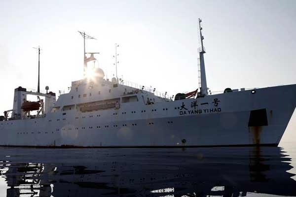 """""""大洋一号""""船完成综合海试任务3日将抵达青岛"""