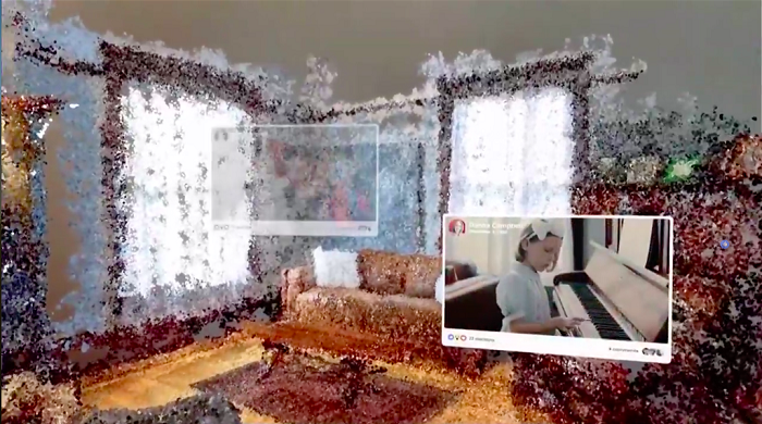"Facebook展示基于VR的""3D照片视频博物馆"""