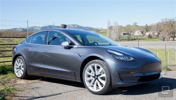特斯拉:Model 3质量可媲美奥迪、宝马、奔驰