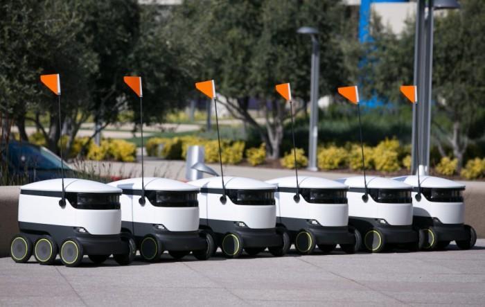 Starship在美加州园区内展开送货机器人测试