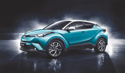 SUV潮流新物种  广汽丰田C-HR发布