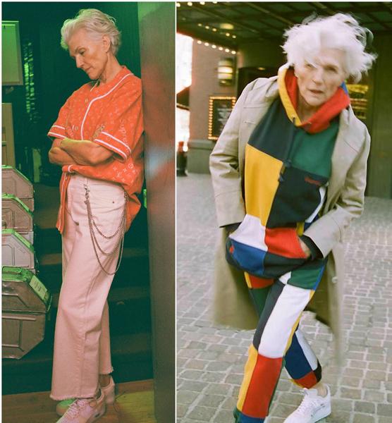 美70岁超模拍摄时尚大片 分享健康秘籍