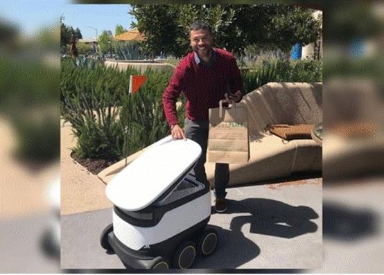 """""""机器人自动外卖""""将成为英美德三国的新潮流"""