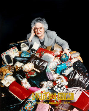 白头偕老的传奇,传奇手袋设计师Judith Leiber追随丈夫仙逝