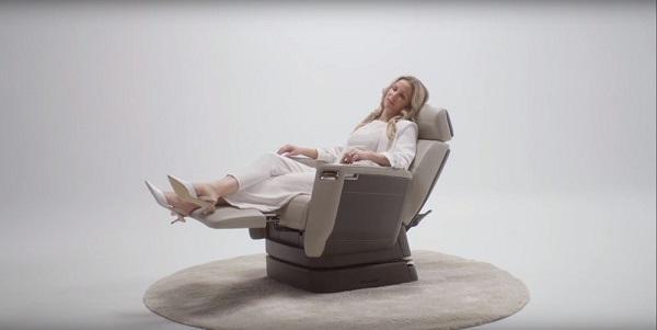 更舒适!庞巴迪展示下一代商务客机座椅