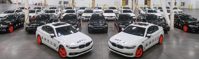 Aptiv将在拉斯维加斯投放30辆自动驾驶宝马车