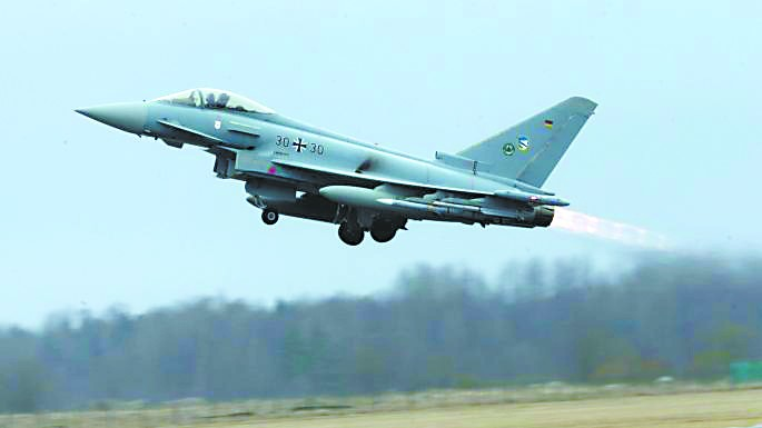 德军128架台风战机仅余4架堪战  还剩多少战斗力?