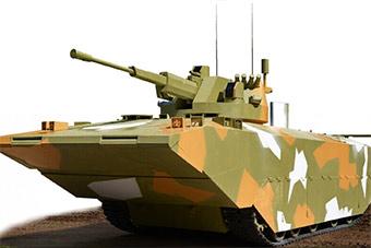 俄罗斯研发下代两栖战车造型酷似中国05式战车