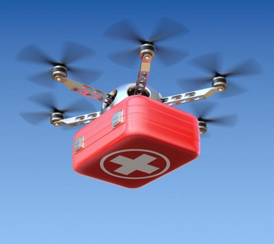 尼泊尔研发首架医疗无人机 可为偏远山区居民送药