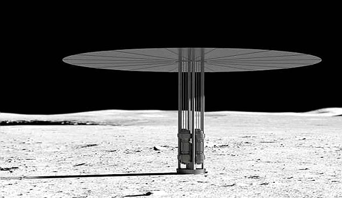 NASA测试核反应堆 可为火星首批人类提供能量