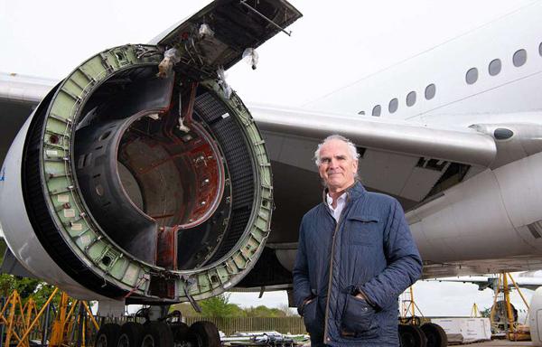英飞机拆卸公司年拆飞机数十架 转卖部件收益颇丰
