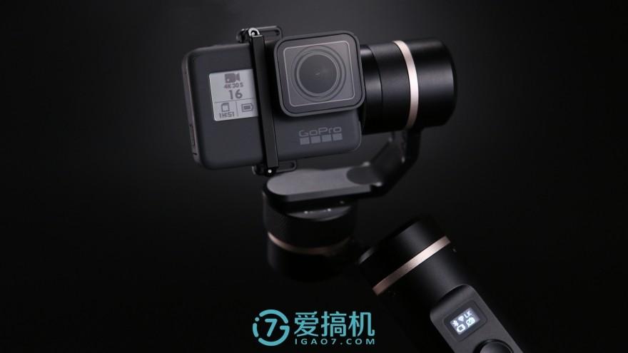 力压GoPro官配 飞宇G6运动相机稳定器评测