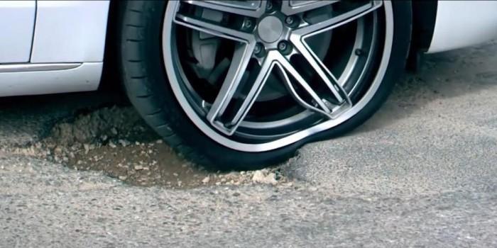 保护轮胎 新技术将能帮助汽车避开路面坑洼地带