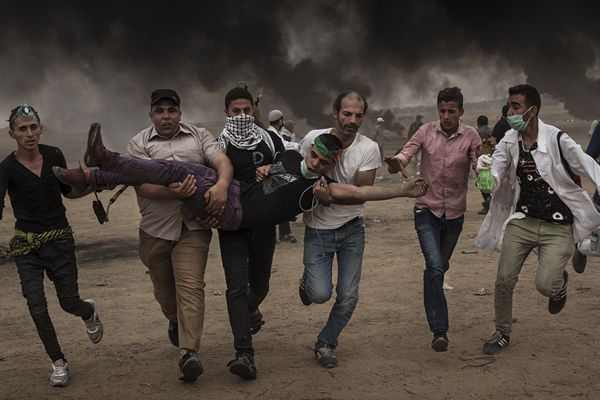 巴以冲突千余名巴勒斯坦人受伤 包括149名未成年人