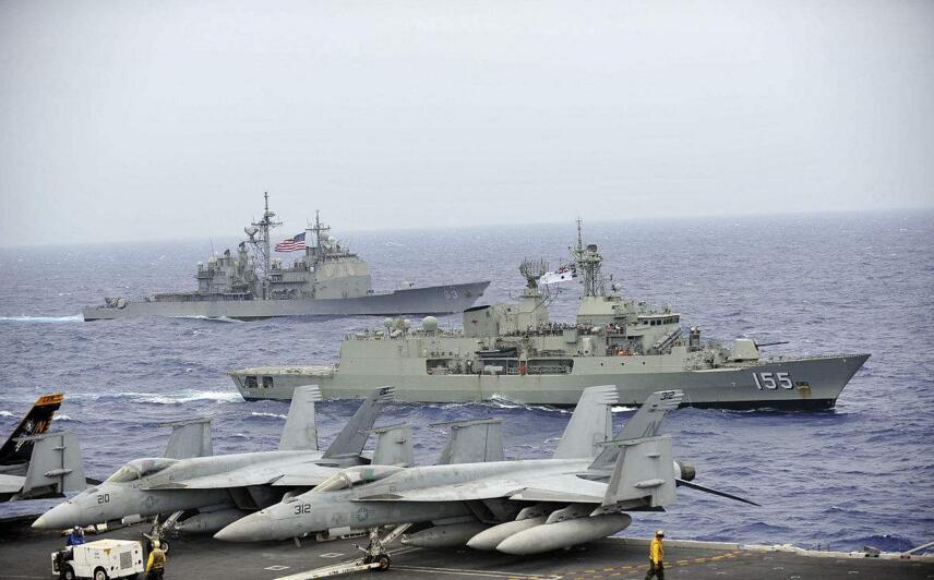 澳媒:为应对中国崛起 美海军将加入澳舰队巡航