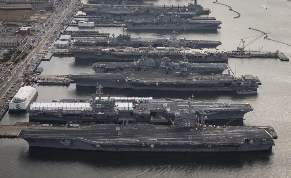遏制俄罗斯海上力量扩张 美国海军重建第二舰队