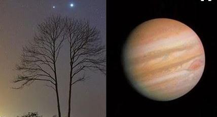 """5月天象扎堆:将上演""""木星冲日""""和""""金星合月"""""""
