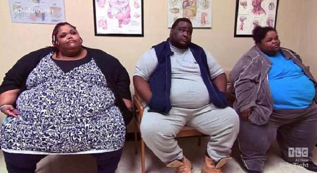 美国三兄妹体重相加近1吨 拍纪录片记录减肥历程